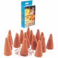 Spiritual Sky Orange Incense Cones