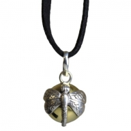 Silver Animal Spirits Calling Bell - Dragonfly