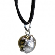 Silver Animal Spirits Calling Bell - Turtle