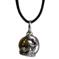 Silver Animal Spirits Calling Bell - Lizard