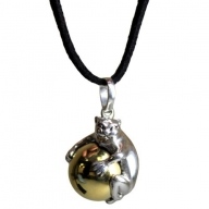 Silver Animal Spirits Calling Bell - Cat