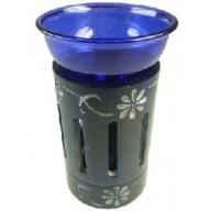 Coloured Oil Burner - Blue
