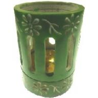 Coloured Incense / Resin Burner- Green