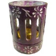 Coloured Incense / Resin Burner- Purple