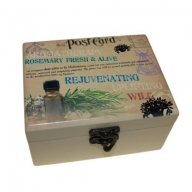 Aromatherapy Box - Holds 12 (Design C)