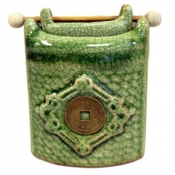 Pot Green Jade Oil Burner