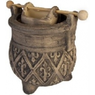 """Aged"" Rustic Design Caldron Grey 110mm"