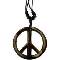 Horn Pendant - Peace