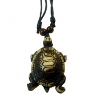 Horn Pendant - Turtle