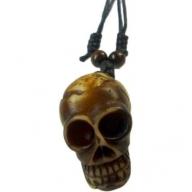 Horn Pendant - Skull
