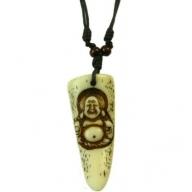 Horn Pendant - Buddha