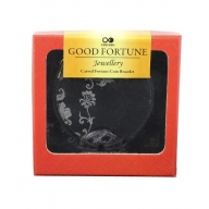 Good Fortune Bracelet - Coin- Amethyst