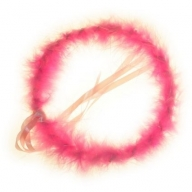 Party Hair Bands - Pink Halo