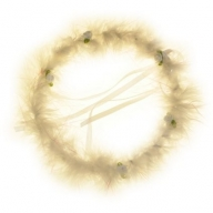Party Hair Bands - White Halo