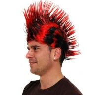 Black & Red Punky