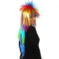 Multi-Coloured Spiky