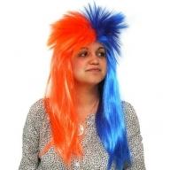Blue & Orange Spiky