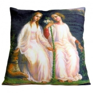 Art Cushion Cover - Two Angels