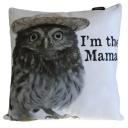 Art Cushion Cover - I'm the Mama OWL