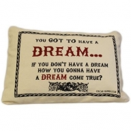Canvas Cushion Cover - Dream