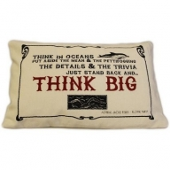 Canvas Cushion Cover - Think Big