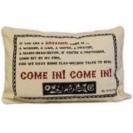 Canvas Cushion Cover - Come In!
