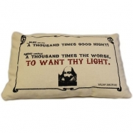 Canvas Cushion Cover - To Want Thy Light