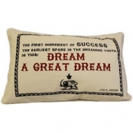 Canvas Cushion Cover - A Great Dream