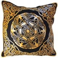 Celtic Cotton Print Cushion Cover