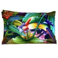 Cushion Cover - Exotic Flora - Parrot Right