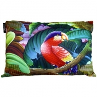 Cushion Cover - Exotic Flora - Parrot Left