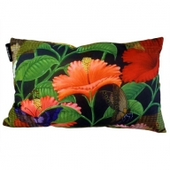 Cushion Cover - Exotic Flora - Butterflies