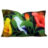 Cushion Cover - Exotic Flora - Bird