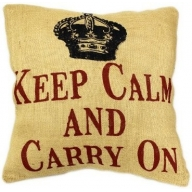 Cushion Cover Keep Calm
