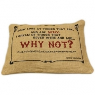 Jute Cushion Cover - Why Not?