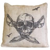 Skull & Cross Knives Cushion Cover