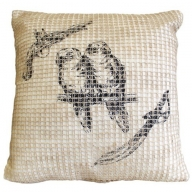 Parrots Cushion Cover