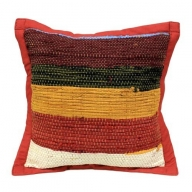 Rug Cushion Cover - Burgandy