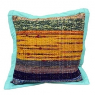 Rug Cushion Cover - Sea Green