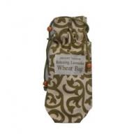 Small Green Print 25cm Toggle Wheat Bag