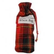 Small Scottish Print 25cm Toggle Wheat Bag