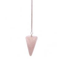 Rose Quartz Magic Pendulum