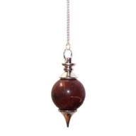 Red Jasper Sphere Pendulum