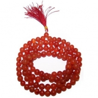 Mala Beads - Carnelian
