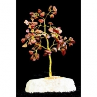 Red Jasper Gemstone Tree (80 Stone)