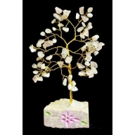 Rose Quartz Gemstone Tree (80 Stone)
