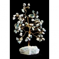 Tree Agate Gemstone Tree (80 Stone)