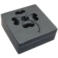 Lucky Stone Box - Four Leaf Clover