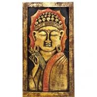 Buddha Stand Golden and Orange