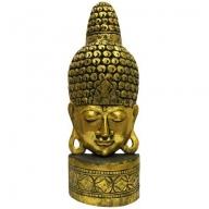 Large Golden Mask of Buddha
